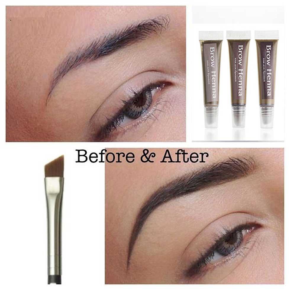 Eyebrow Henna: Eyelashes And Brows