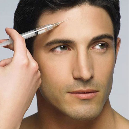 Beauty injections for men